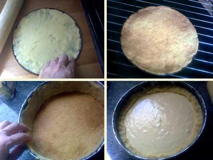 Receta de tarta de queso casera, elaboración