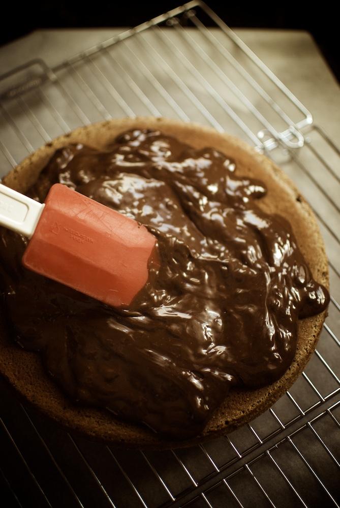 tarta de chocolate pasos ganache 3