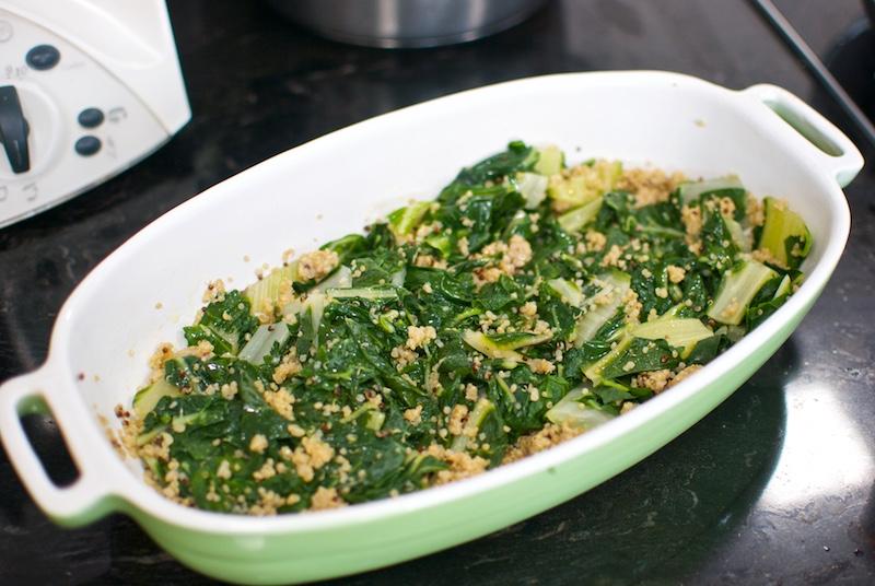 pastel de acelgas, quinoa y patatas (2)